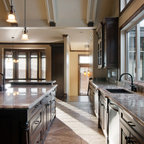 Cream And Grey Kitchen Traditional Kitchen Salt Lake City on Omaha New Custom Homes 1599