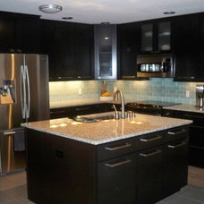 Contemporary Kitchen by Long Custom Homes Building and Remodeling