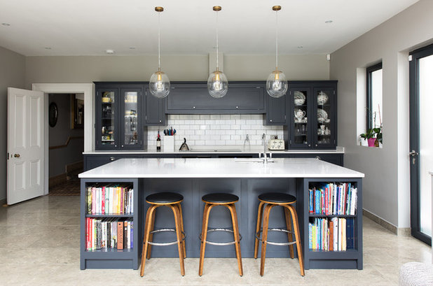 Transitional Kitchen by The Shaker Kitchen Company