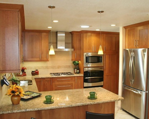 Small U Shaped Eat In Kitchen Design Ideas Remodel