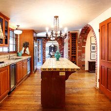 Mediterranean Kitchen by Stephanie Wiley Photography