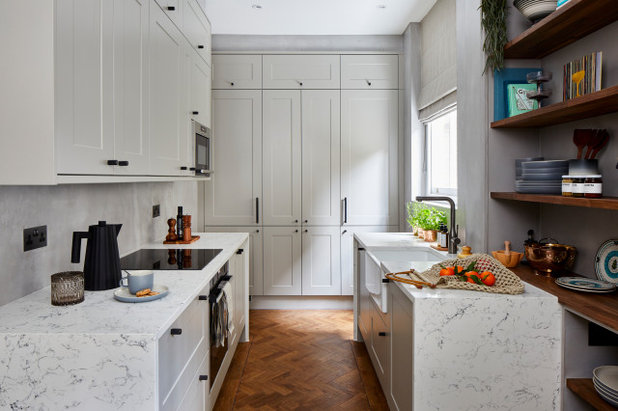 Transitional Kitchen by Space Shack