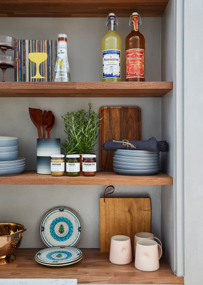 Midcentury Kitchen by Space Shack