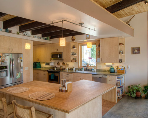 Bamboo Countertop Home Design Ideas, Pictures, Remodel and Decor