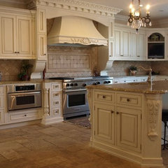 mediterranean kitchen by ED Enterprises, Inc.