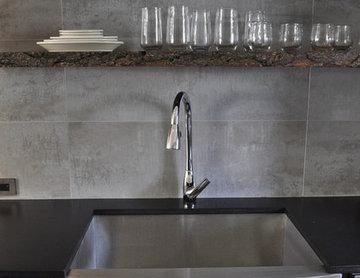 Earthy Kitchen -  Condo Renovation