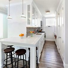Transitional Kitchen by KBR Design & Build