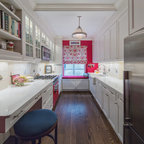 Townhouse Apartment Traditional Kitchen New York