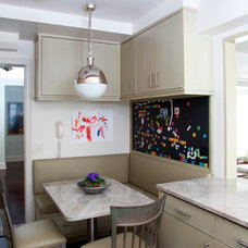 Transitional Kitchen by Adrienne Neff Design Services LLC