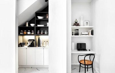 Utnyttja rummets alla skrymslen och vrår – här är de smartaste tipsen
