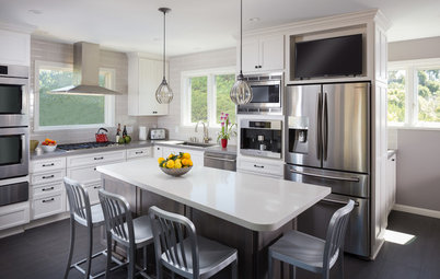 Kitchen of the Week: From Dated and Isolated to Open and User-Friendly