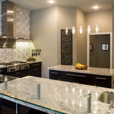 Contemporary Kitchen by MOSS MANOR | Sarah James Moss