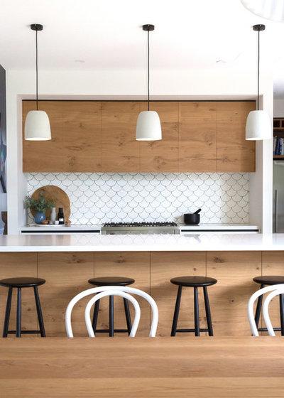 Современный Кухня by Hart Builders Pty Ltd