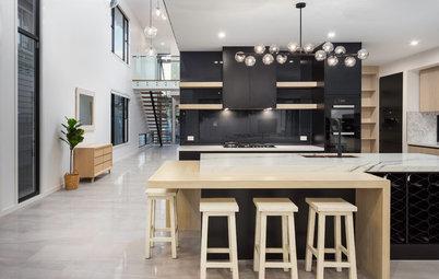 7 Stylish Ways to Make Black Kitchen Cabinets Work