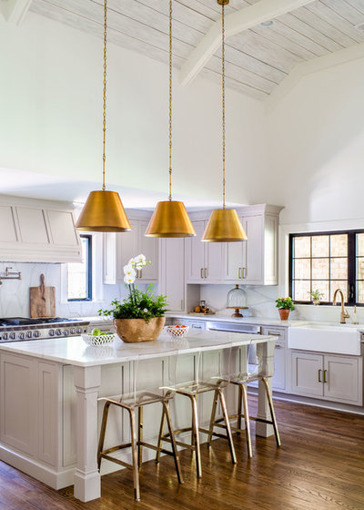 Traditional Kitchen by Alan Clark Architects, LLC