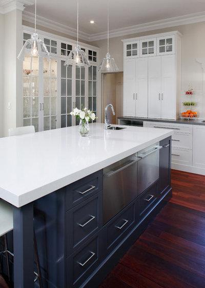 Traditional Kitchen by Kitchen Capital WA