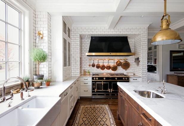 Traditional Kitchen by KitchenLab | Rebekah Zaveloff Interiors