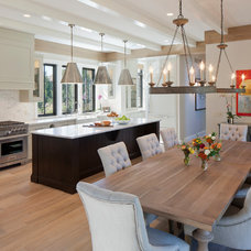 Transitional Kitchen by J Visser Design