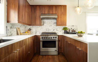 New This Week: 3 Handsome Wood-and-White Kitchens