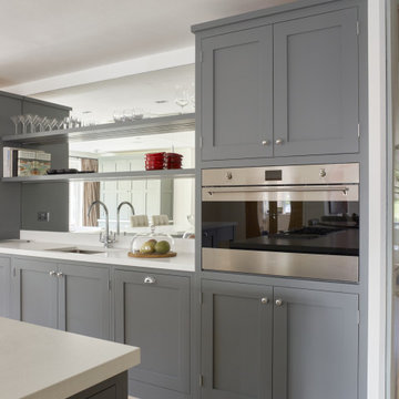 East Grinstead Shaker Kitchen and Wine Room