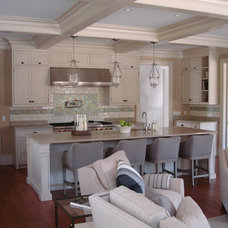 Beach Style Kitchen by Libby Langdon Interiors, Inc.