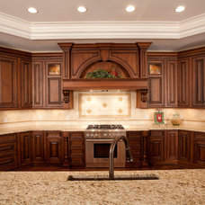 Traditional Kitchen by Walker Homes LTD