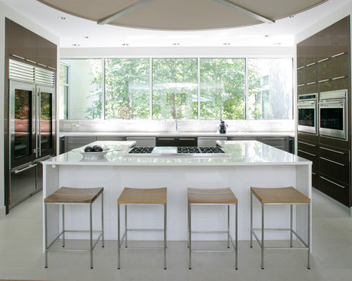 Glass Door Refrigerator Ideas, Pictures, Remodel and Decor