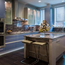 Contemporary Kitchen by Kaufman Segal Design