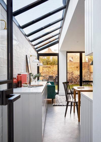 Transitional Kitchen by FIONA DUKE INTERIORS