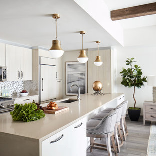 Kitchen With Light Wood Cabinets