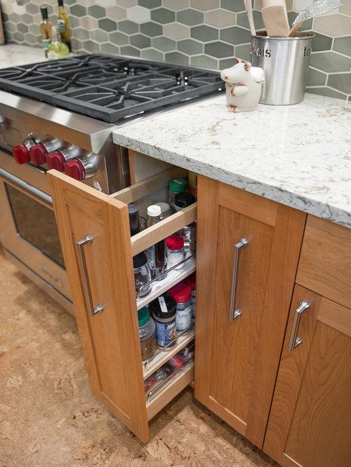 Kitchen Pantry Design Ideas Renovations Photos With Cork Flooring