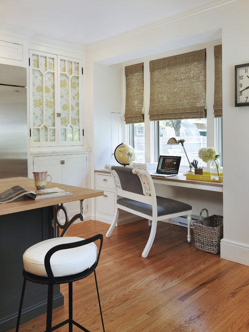 Best window desk design ideas remodel pictures houzz Study table facing window