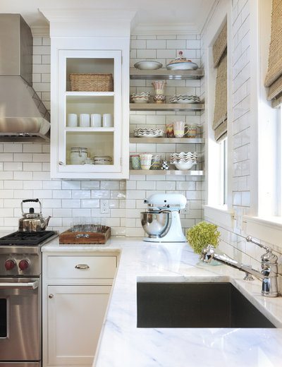 American Traditional Kitchen by Taste Design Inc