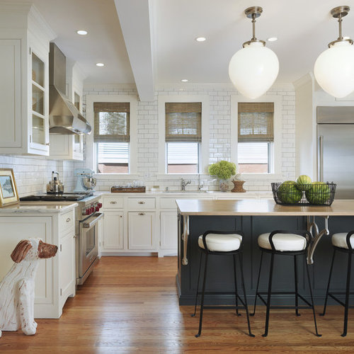 Inspiration For A Timeless Kitchen Remodel In Providence With Stainless  Steel Appliances