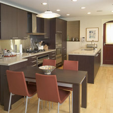 Contemporary Kitchen by Ina Schell, Inc.