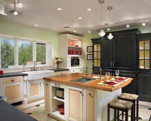 Peach kitchen design ideas renovations photos for Peach kitchen ideas