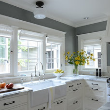 Traditional Kitchen by Emerick Architects