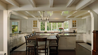 Easton, Maryland - Traditional - Kitchen with Lake View