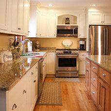 Transitional Kitchen by Southcoast Kitchen Designs