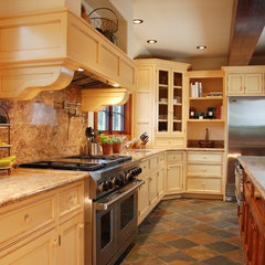 traditional kitchen by EB Knight Construction
