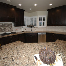 Traditional Kitchen by Blue River Cabinetry