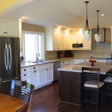 Traditional Kitchen by Kitchen Design Services