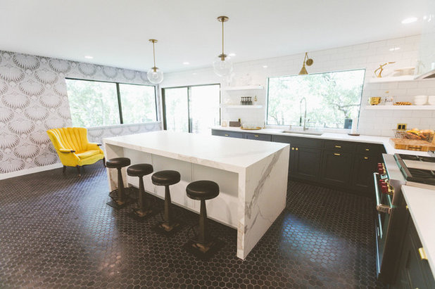 My Houzz From Beige And Bland To Eclectic And Moody In Austin