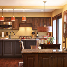 Traditional Kitchen by Olamar Interiors