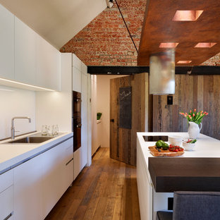 Eclectic Barn Conversion with bulthaup b1 kitchen