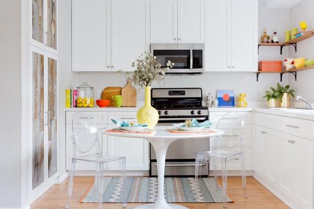 エクレクティック キッチン by Jennifer Grey Interiors Design & Color Specialist