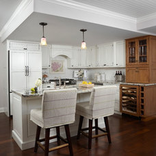 Eclectic Kitchen by Cottage Company Interiors