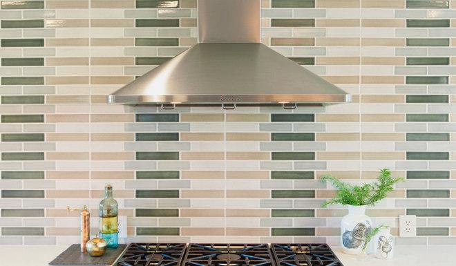 Transitional Kitchen by LOCZIdesign