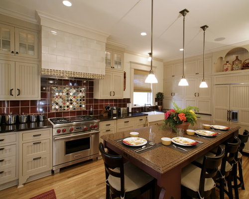 red backsplash houzz 40 awesome kitchen backsplash ideas decoholic