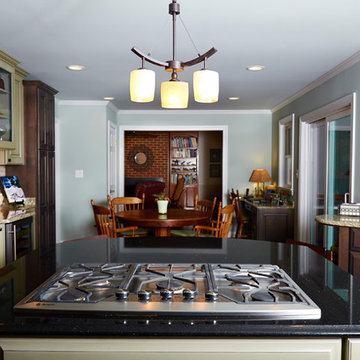 Eclectic Kitchen & First Floor Remodel